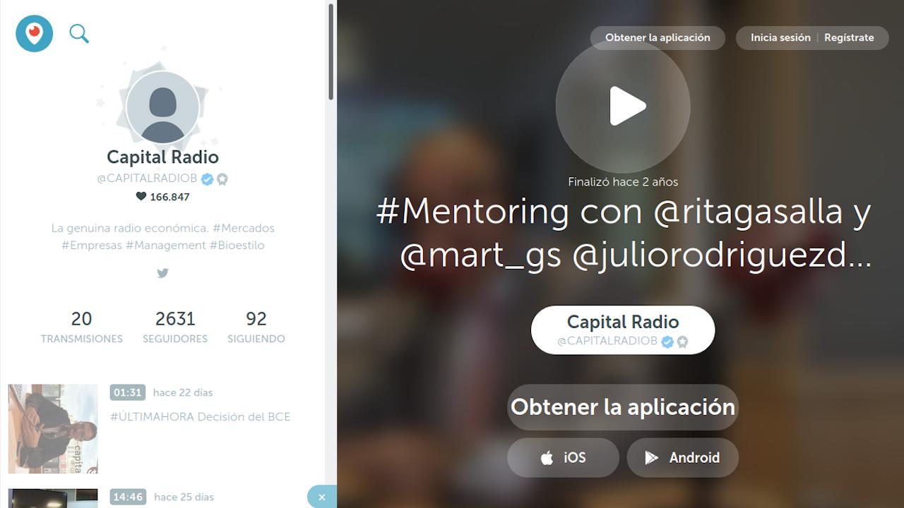 Capital Radio Mentoring Rita Gasalla