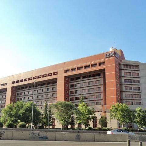 Sede de IBM en Sta. Hortensia, Madrid
