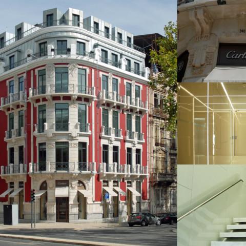 Sede Banca Privada para Banque BPP Lisboa