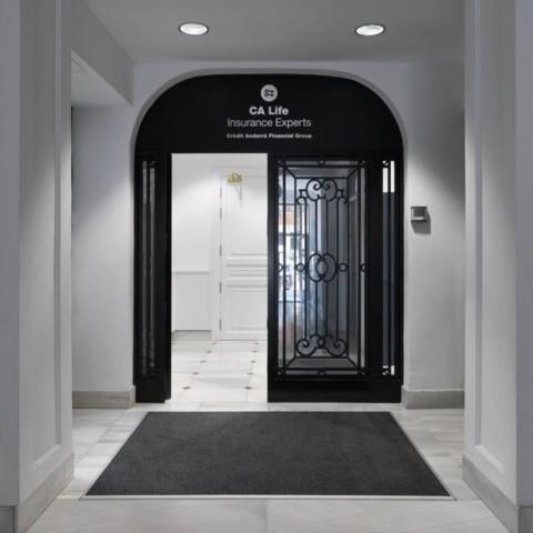 Oficinas Grupo Credit Andorrá. Calle Goya, Madrid