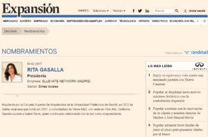 Rita Gasalla en Expansión