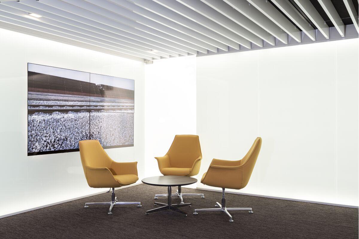 Galow Arquitectura saludable interiorismo lounge oficinas well