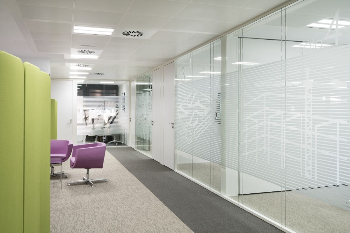 Galow Arquitectura saludable interiorismo Acustic well healthy workplace
