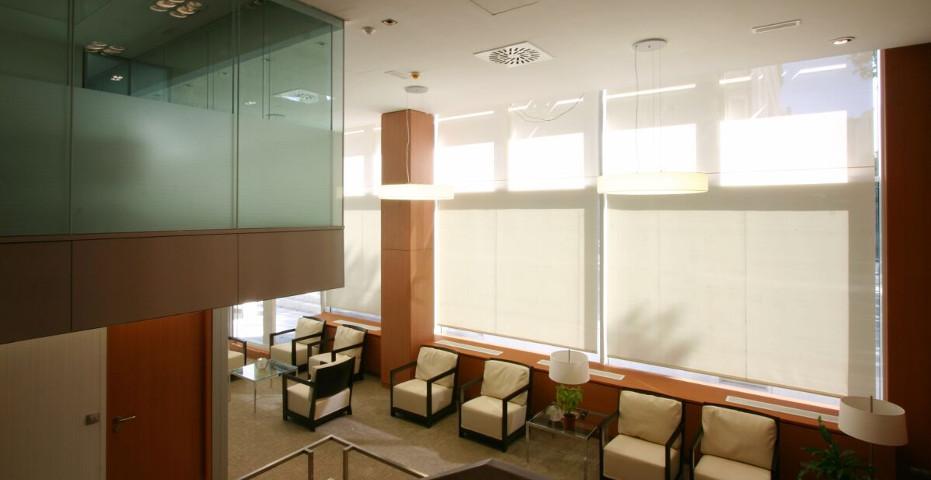 Sede oficinas de Fortis Bank.  Madrid 2005