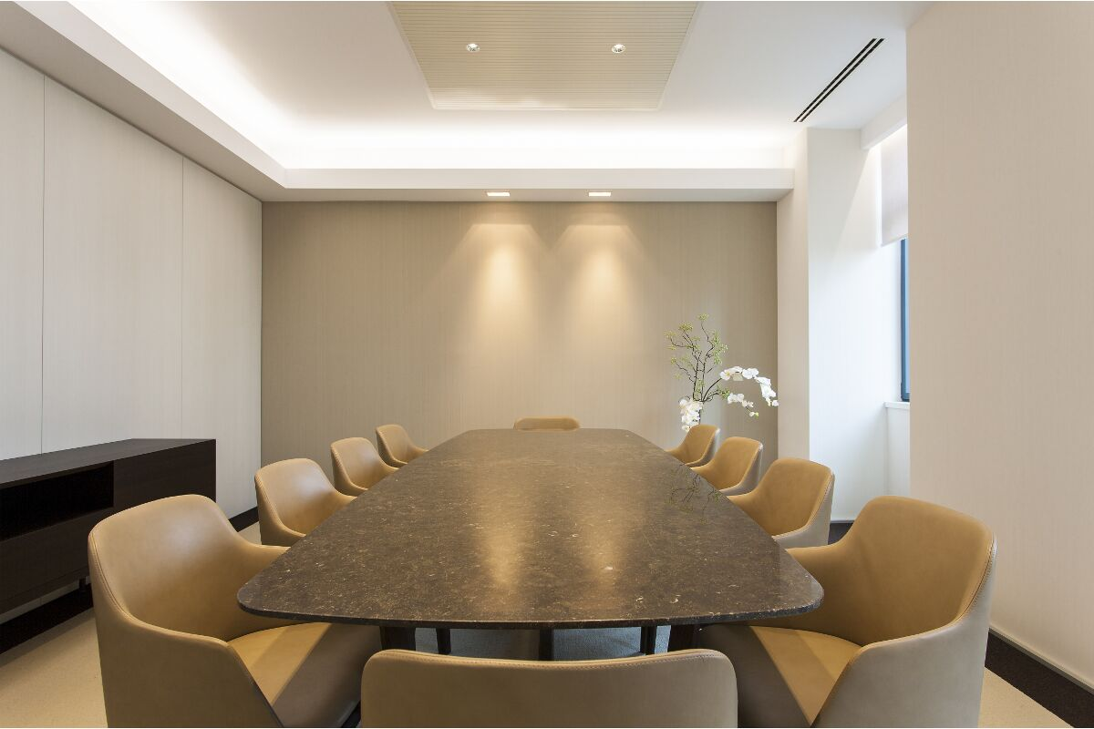 Galow BPP Private Bank meeting Lisbon refurbishment interior design well