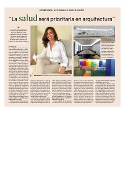 Expansion, artículo sobre Arquitectura Saludable, Rita Gasalla