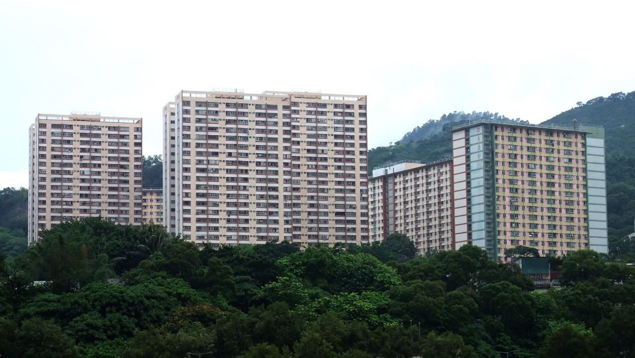 Cheung Hong Estate in Tsing Yi - Wikicommons