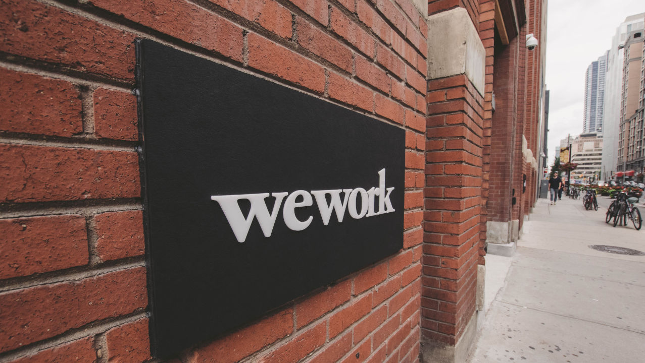 WeWork. Foto Eloise Ambursley en Unsplash