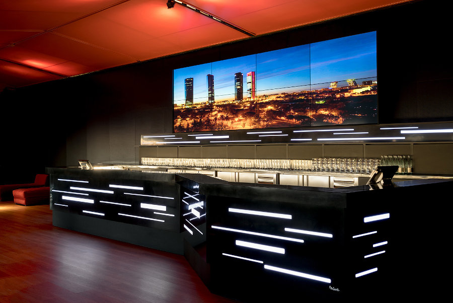 Galow Lounge Bar Hotel 1 Barra Videowall 1