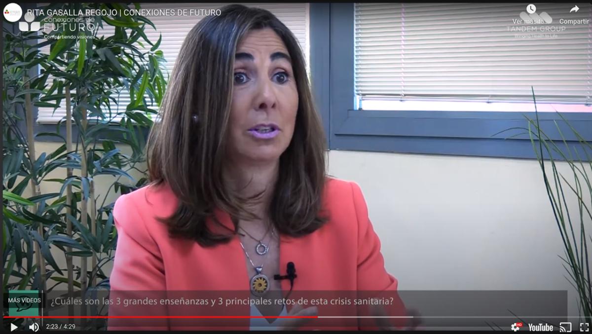 Entrevista a Rita Gasalla, Conexiones de Futuro – Levin, Tandem Healthcare Group