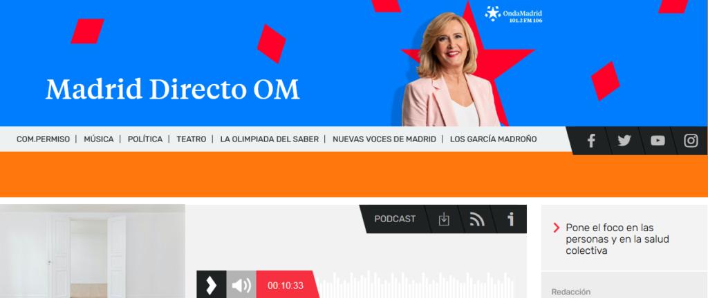 Entrevista Madrid Directo OM