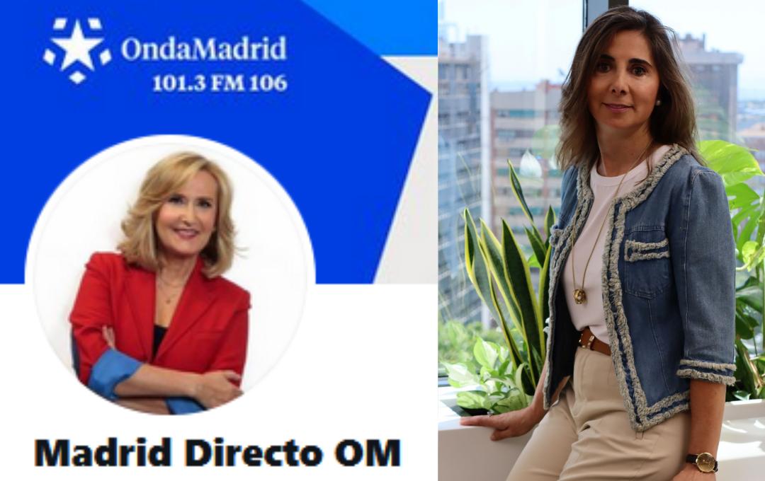 El coronavirus propicia el auge de la arquitectura saludable- Entrevista en Madrid Directo, Onda Madrid.