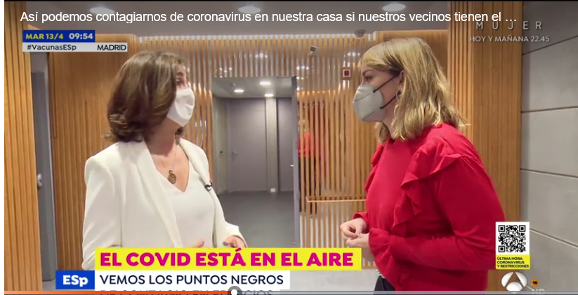 Rita Gasalla En Espejo Público 13 Abril 2021