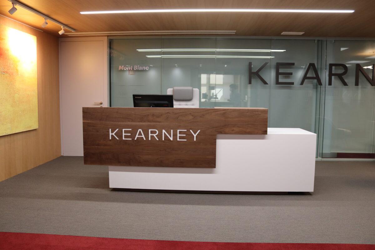 Oficinas Kearney. Madrid 2020